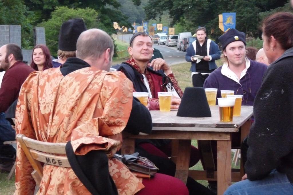 Herstmonceux - Medieval Festival 2013 - Plastic Pint Glasses