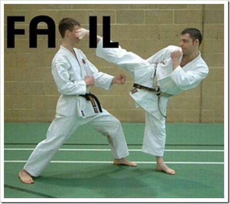 Karate Fail - Lazer Horse - Referee Goes Nuts
