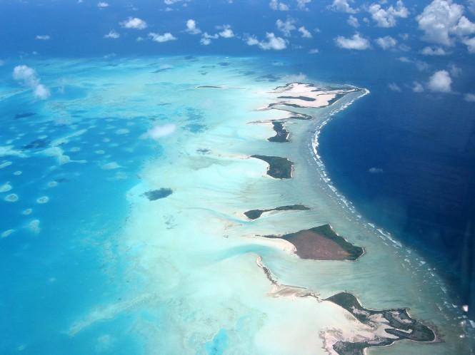 Kiribati - From The Air - Global Warming Victim - Climate Change