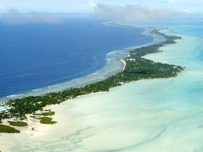 Kiribati - Spit  - Global Warming Victim - Climate Change