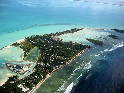 Kiribati - Spit town  - Global Warming Victim - Climate Change