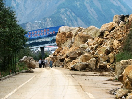 Why are lanslides in China so common