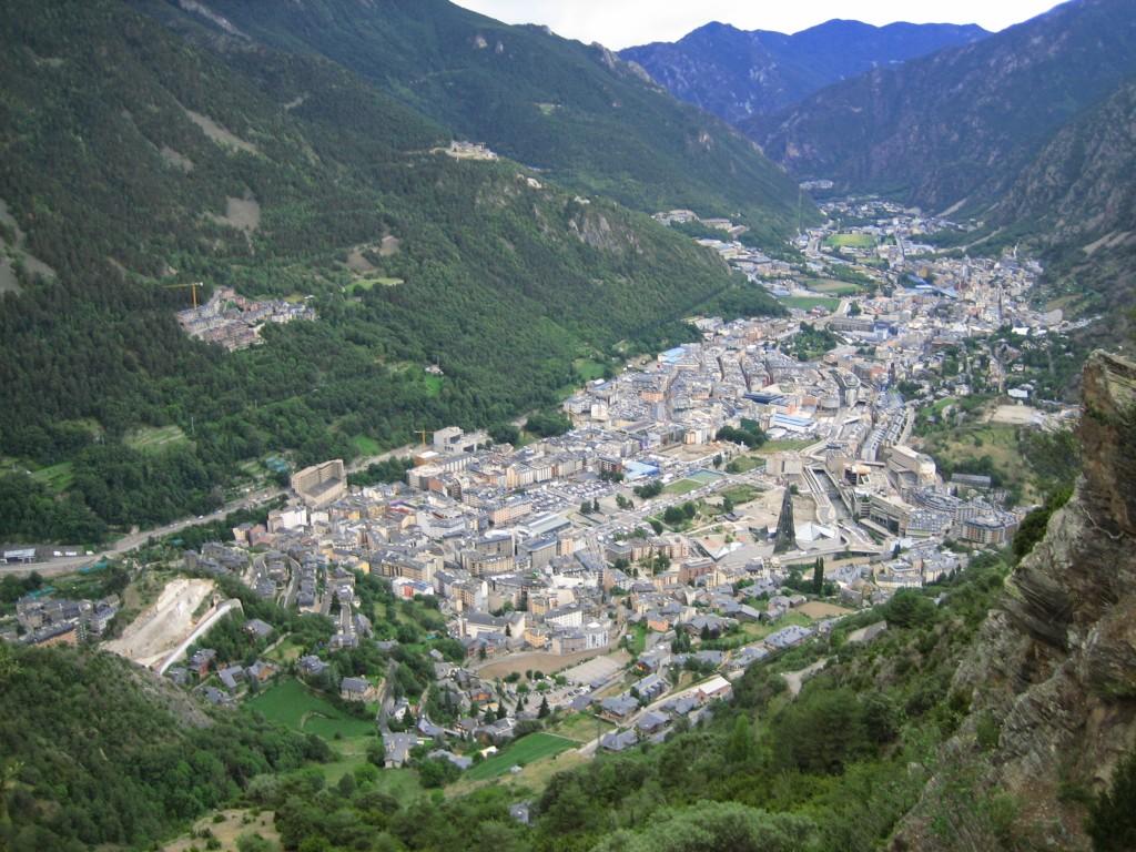 Andorra - Andorra La Vella View