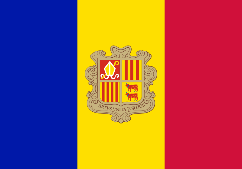 Andorra - Flag of Andorra - World Flags