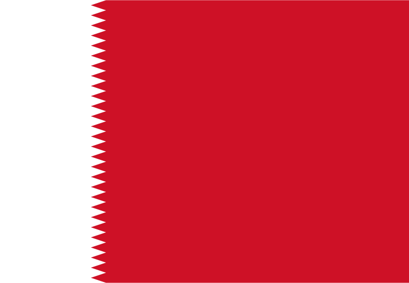 Bahrain Flag - 1932 to 1972 - Flags of the World - Best Of