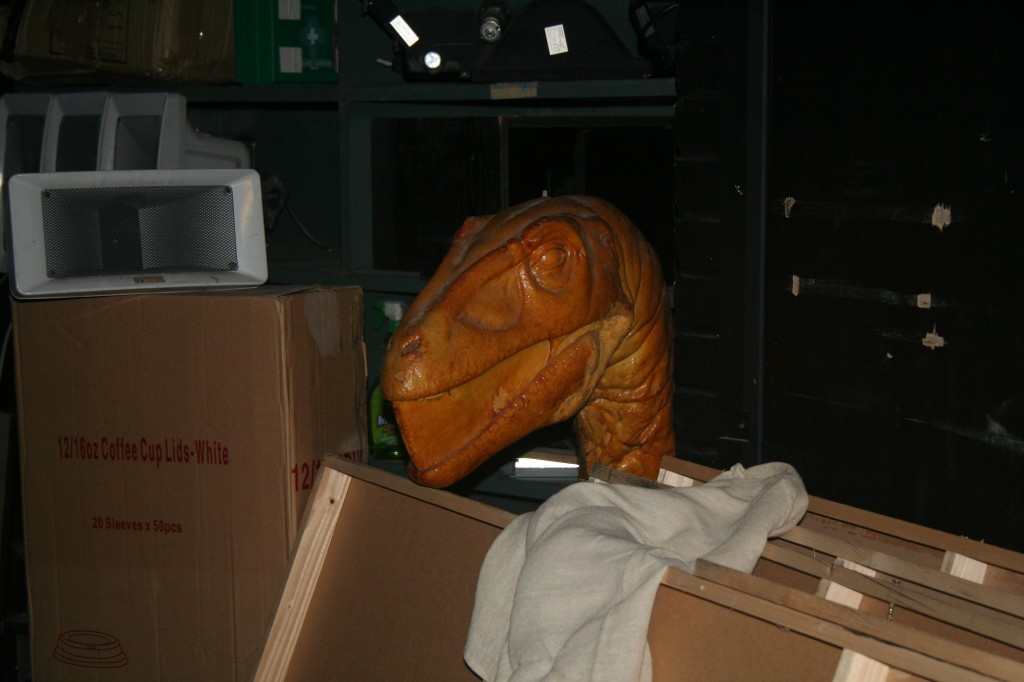 Purchase Buy Life Sized Dinosaur Models Bailiff - Head