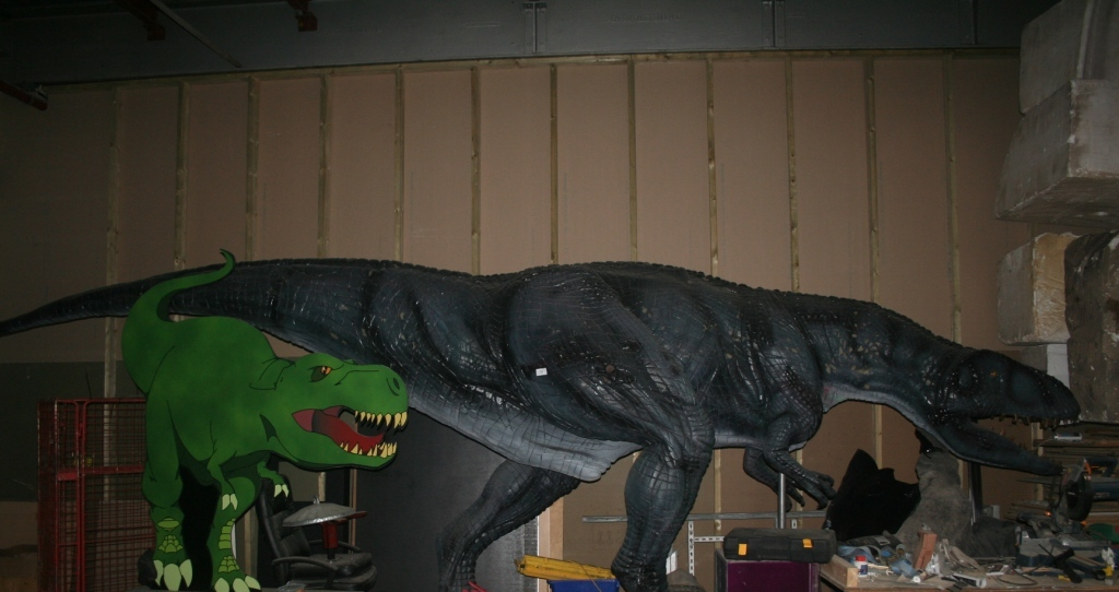 Purchase Buy Life Sized Dinosaur Models Bailiff - Large