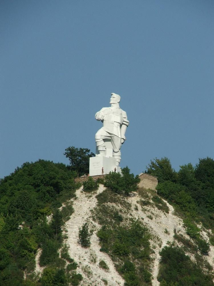 Artem Sergeev - Russian - Cubist Statue 2