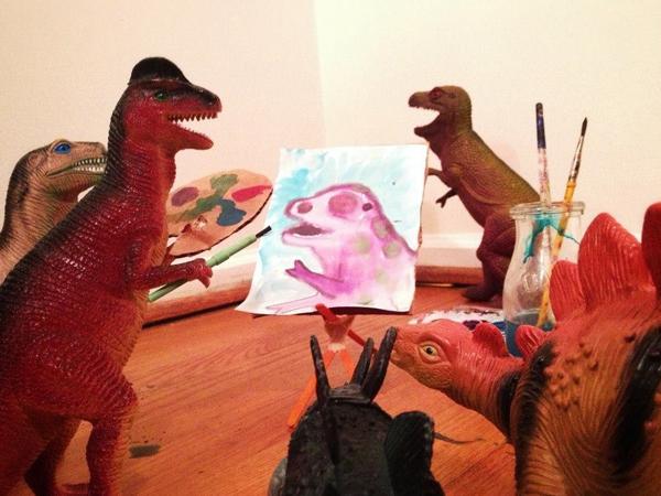 Dinovember - Art