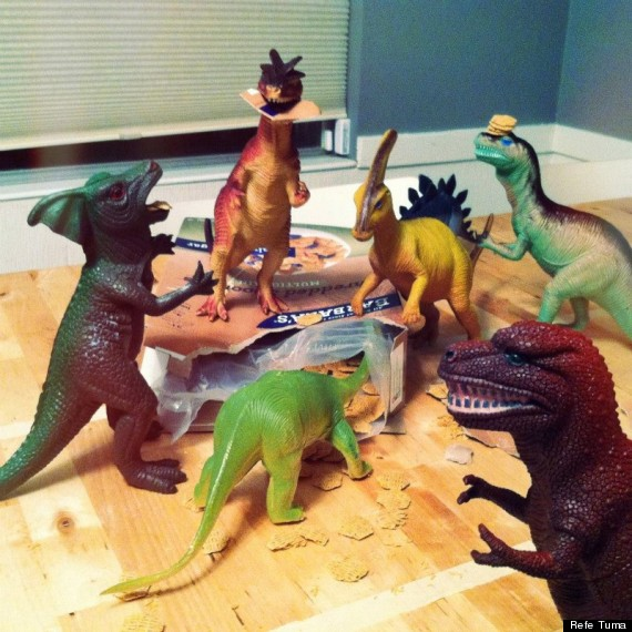 Dinovember - Biscuits