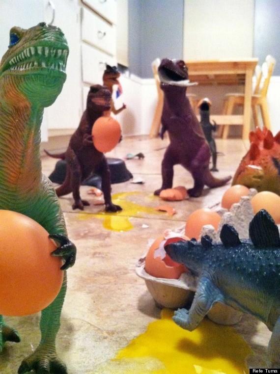 Dinovember - Eggs