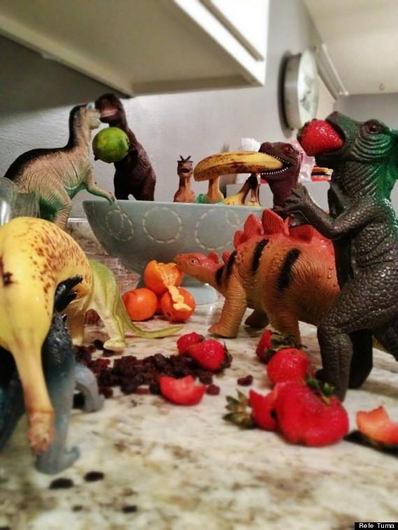 Dinovember - Fruit
