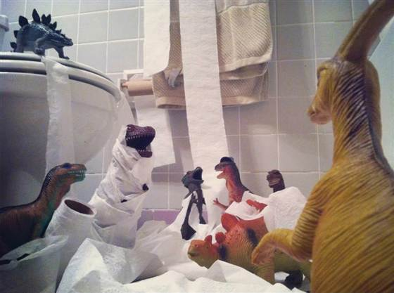 Dinovember - Toilet