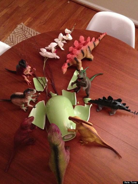 Dinovember - Vase