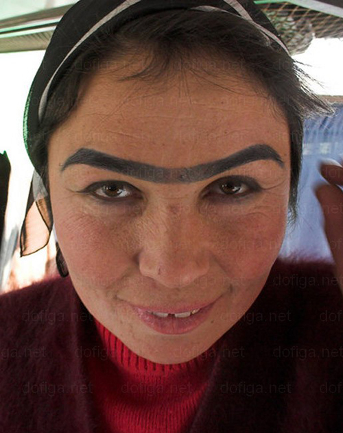 Eyebrows - Weird Bad Ugly - Anaconda Unibrow
