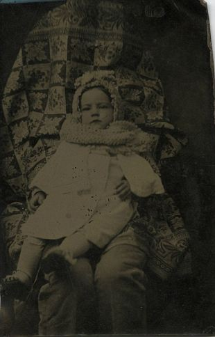Hidden Mother Photographs - Victorian - legs out