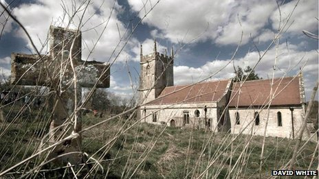 Imber Village Wiltshire - Abandoned - St Giles Church
