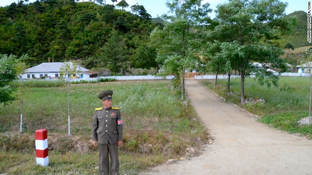 Inside North Korea - Guard