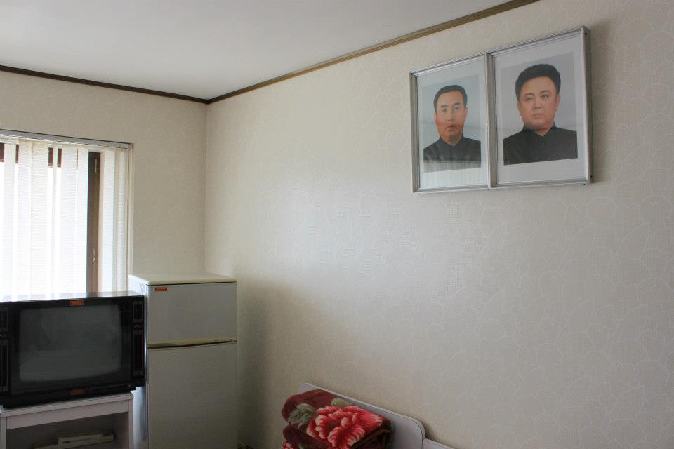 Inside North Korea - Hotel room