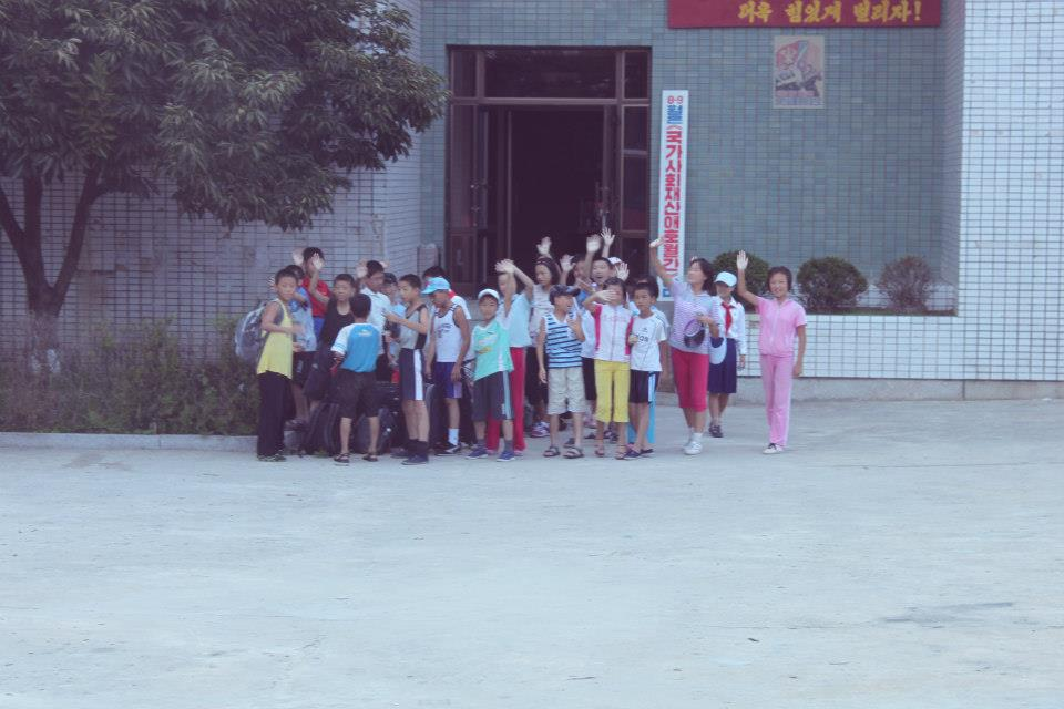Inside North Korea - School Children