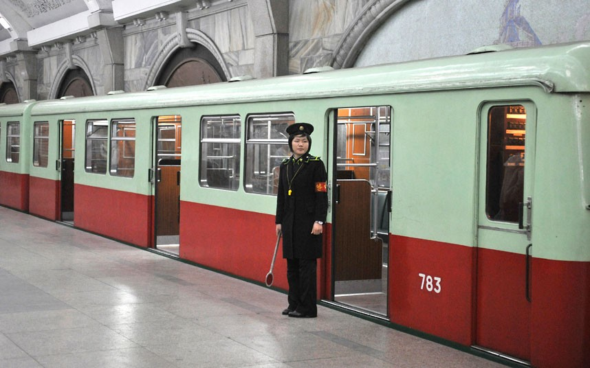 Inside North Korea - Train