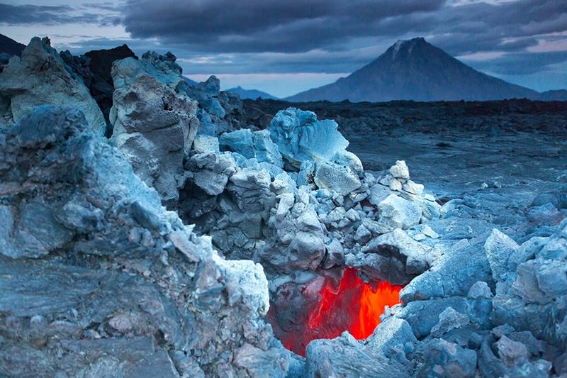 Kamchatka - Blue ice