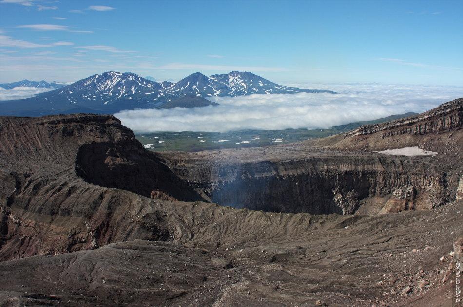 Kamchatka - Crater of Mutnovsky volcano
