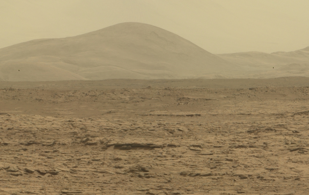 Mars - NASA - Rover - Lizard Found On Mars - Panorama