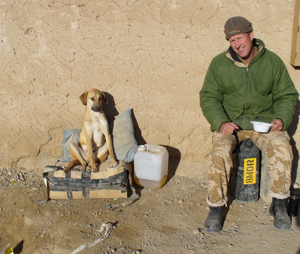 Nowzad Dogs - Royal Marines - Afghanistan - Dog Charity - Pen and Nowzad