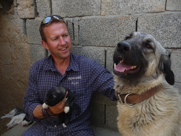 Nowzad Dogs - Royal Marines - Afghanistan - Dog Charity - Sky News Reporter