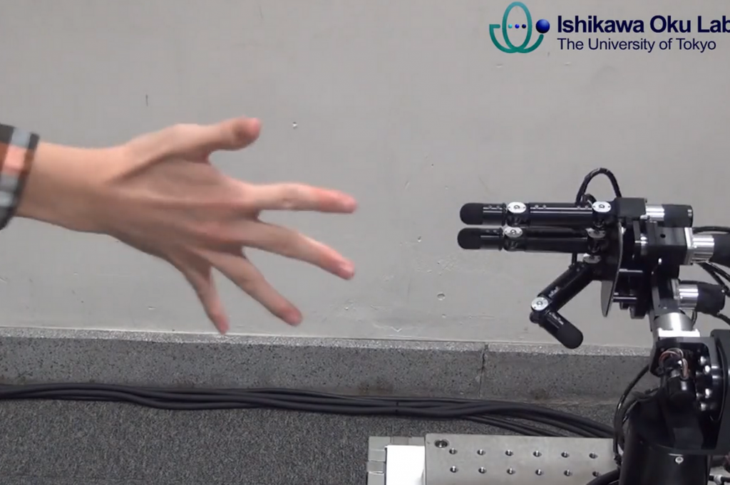 Rock-paper-scissors-robot-Ishikawa Oku Lab