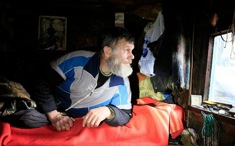 Siberian Hermit - Victor - Russia - In Hut 2