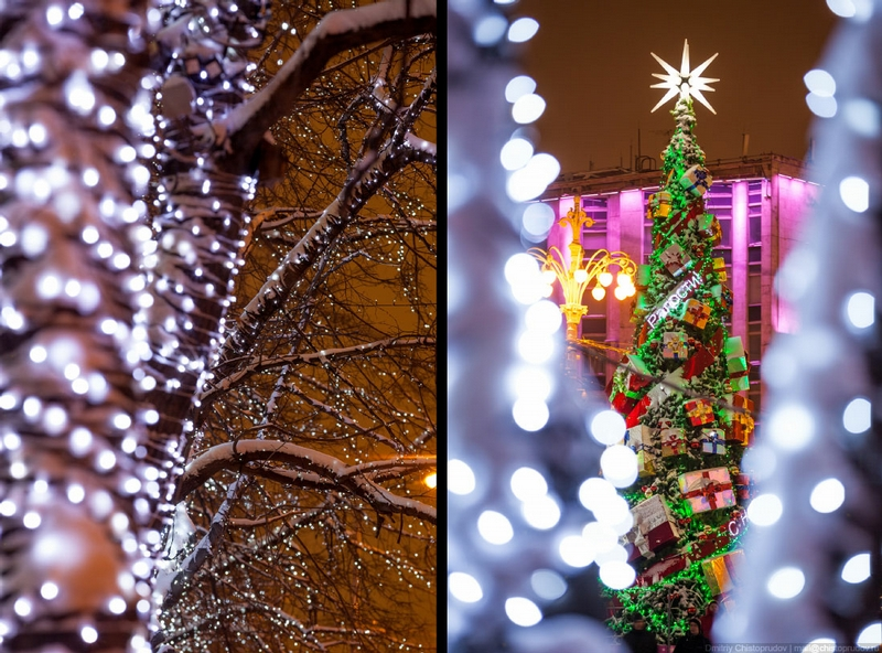Christmas In Moscow Russia - Double