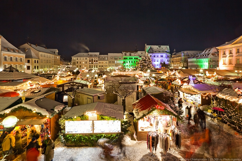 Christmas In Moscow Russia - Higher up