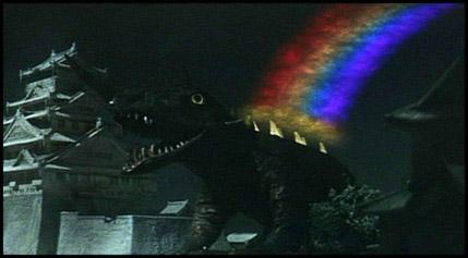 Gamera - Japan Cartoon Anatomy - Barugon Rainbow
