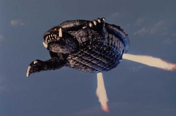 Gamera - Japan Cartoon Anatomy - Gamera Flying