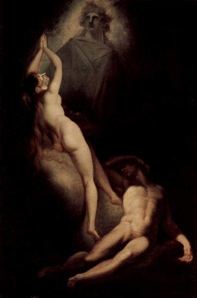 Henry Fuseli - Painter - Illuminati - Die Erschaffung Evas