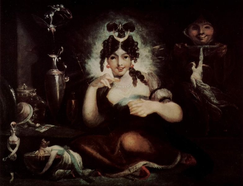 Henry Fuseli - Painter - Illuminati - Fairy Mab