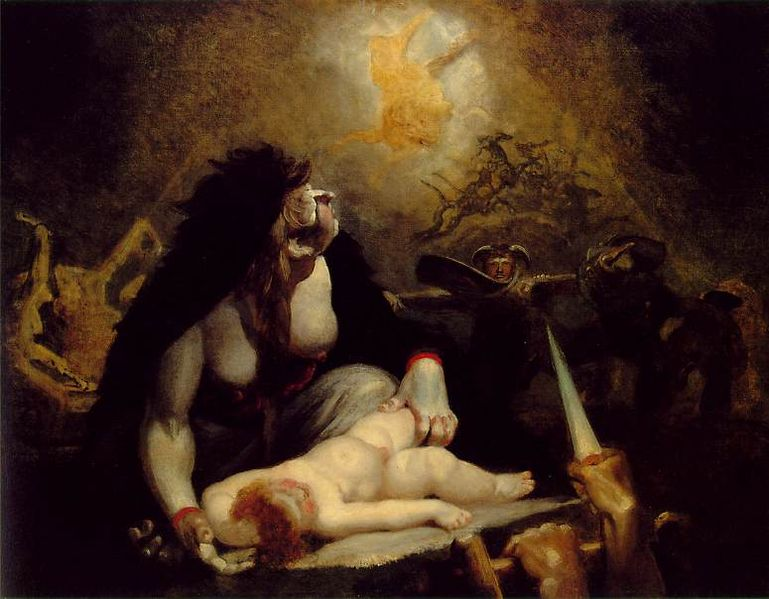 Henry Fuseli - Painter - Illuminati - Lapland Witches