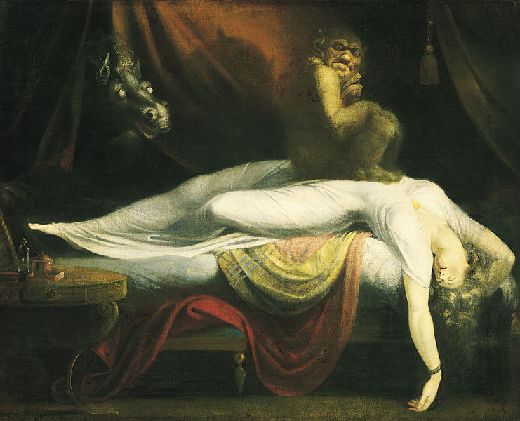 Henry Fuseli - Painter - Illuminati - The Nightmare