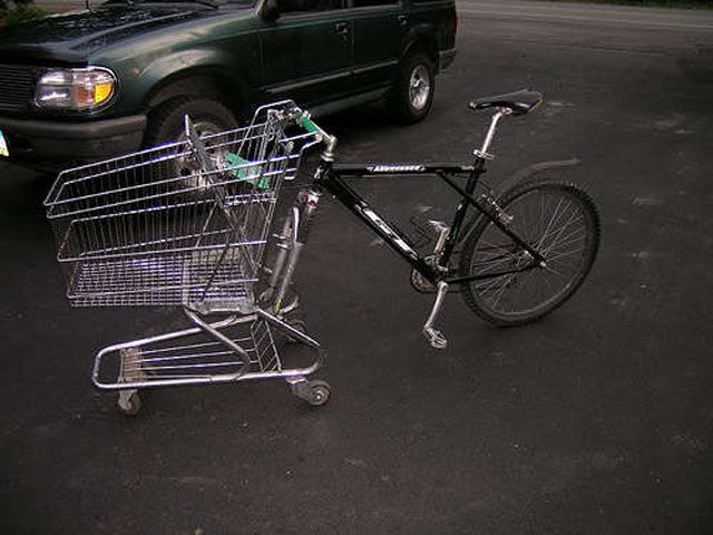 Human Ingenuity - Bike Trolley