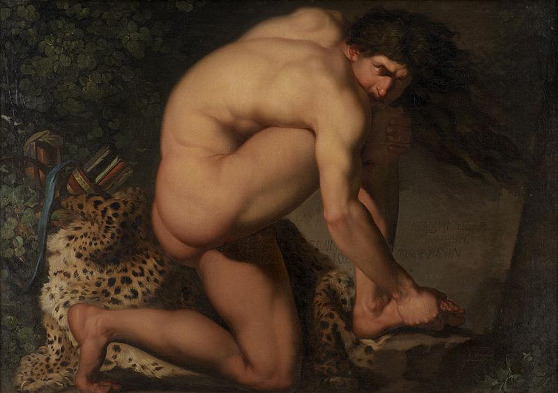 Nicolai Abildgaard - Danish Painter - The Wounded Philoctetes