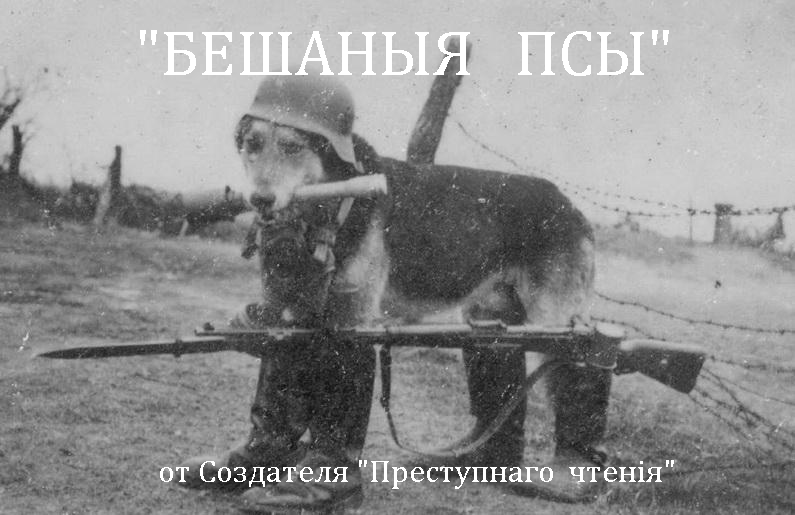 Old Russian Film Poster - Dog War