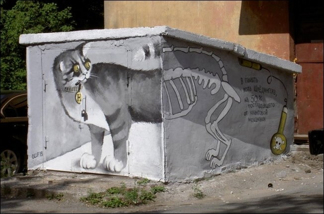 Russia With Love - Street Art - cAT bONES