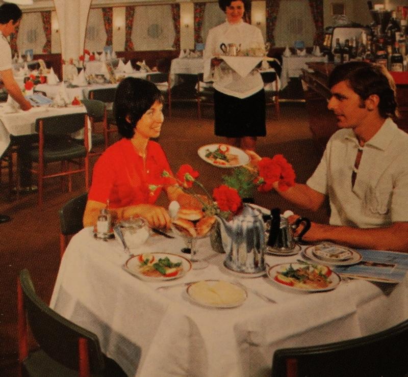 Soviet Cruise 70s 80s Russia - Dinner