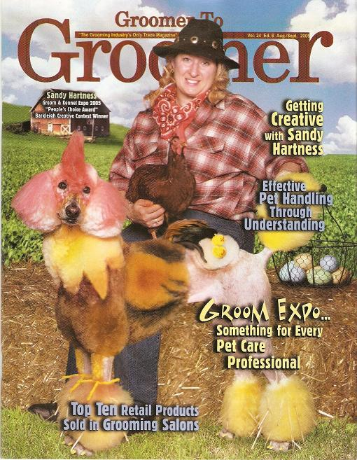Groomer to groomer magazine - intergrooming - Chicken