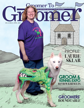 Groomer to groomer magazine - intergrooming - Dragon Wolf