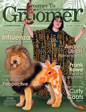 Groomer to groomer magazine - intergrooming - Lion