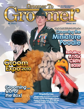 Groomer to groomer magazine - intergrooming - Military