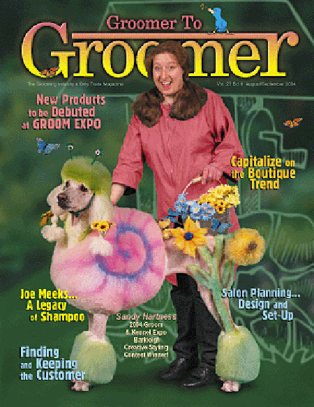 Groomer to groomer magazine - intergrooming - Poodle